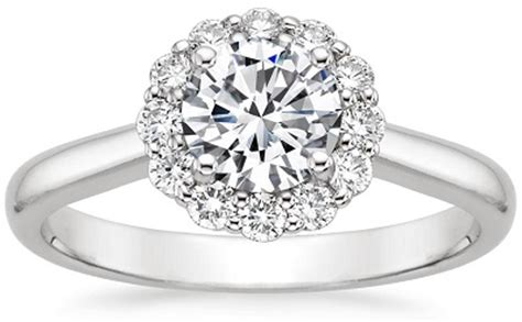 floral diamond rings find  flower engagement ring