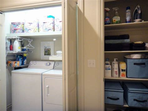 turn a closet into a laundry room diy projects for