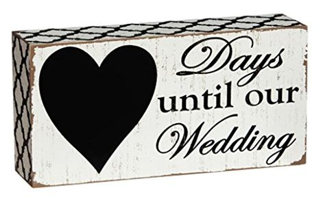 Days Until Home by Countdown Days Until Our Wedding Chalkboard Home Decor