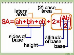 Rechteckige Pyramide Berechnen : die oberfl che eines dreiseitigen prismas berechnen wikihow ~ Themetempest.com Abrechnung