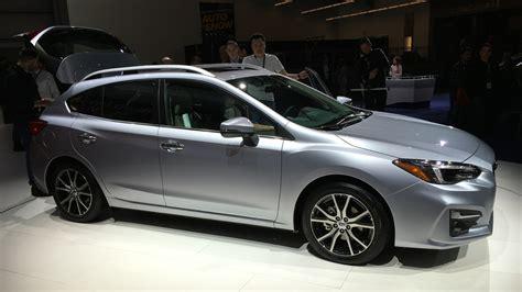 2017 subaru impreza sedan 2017 subaru impreza sedan and hatch debut at new york auto