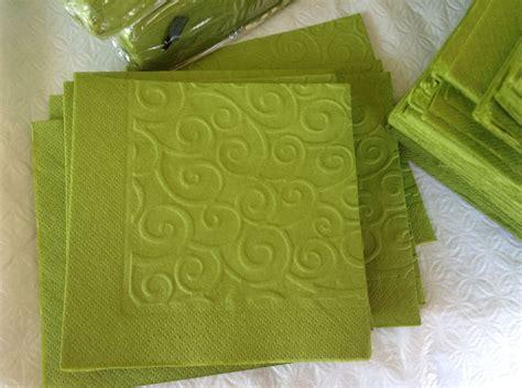 cuttlebug embossed napkins diy napkin cards card making