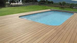 Bois Terrasse Piscine : plage piscine bois l 39 habis ~ Edinachiropracticcenter.com Idées de Décoration