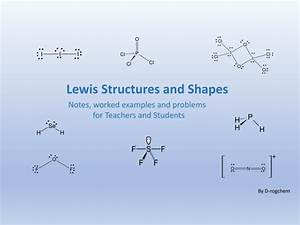 Chemistry  Lewis Structure And Molecular Shape Problems By Drogchem - Teaching Resources