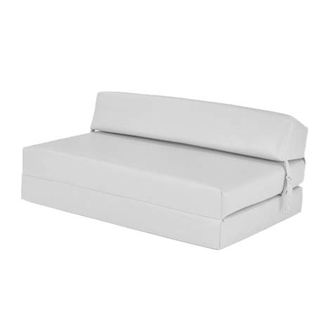 fold out futon faux leather fold out z bed single futon chair bed