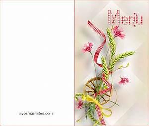 Modele De Menu A Imprimer Gratuit : modele carte de menu imprimer le garde manger ~ Melissatoandfro.com Idées de Décoration