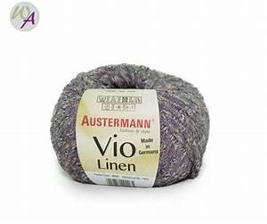 Vio De Sommer : austermann wolle vio linen farbe 0006 lavendel wolle ~ Orissabook.com Haus und Dekorationen