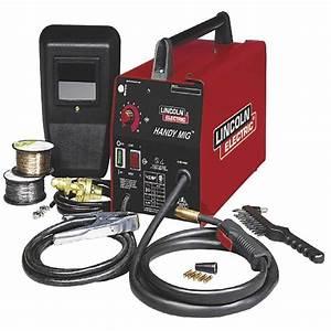 115 Vac 70 Amp 2300 Watt Handy Mig Welder Gasless Welding