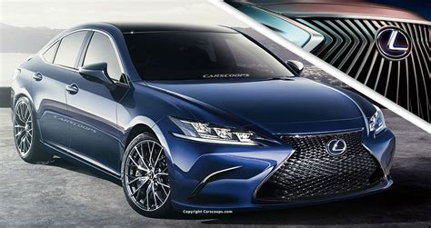 lexus es  coming  april  heres