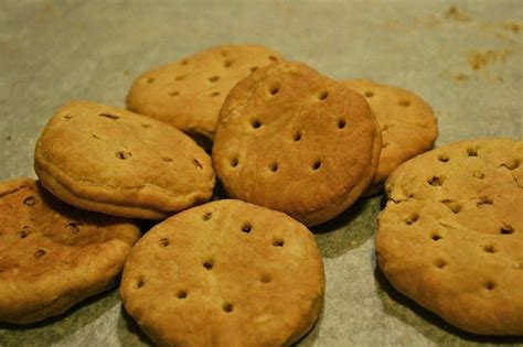 This was a light meal. buccellatum, or Roman hardtack, a simple biscuit made of flour, salt, and water. It is rock hard ...