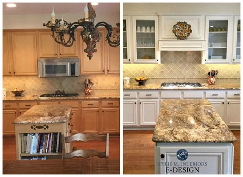 edesign painted maple cabinets  gorgeous  white makeover