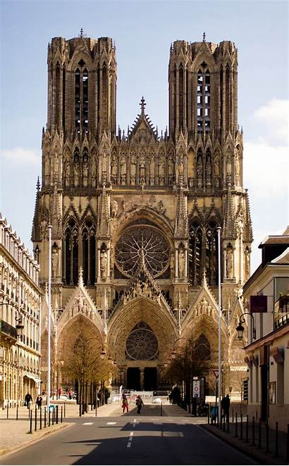 Reims Wikipedia Dame Notre Kathedrale Facade