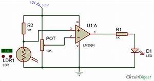 Diy Smart Electronic Candle Circuit Using Ldr