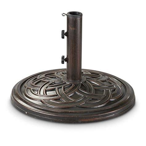 castlecreek bronze celtic knot patio umbrella base
