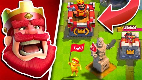 New Red King Tower  Clash Royale (red) Update Youtube