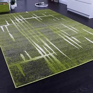 Teppich Grün Grau : designer teppich modern trendiger kurzflor teppich meliert in gr n grau creme alle teppiche ~ Markanthonyermac.com Haus und Dekorationen