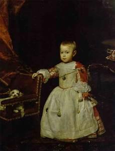 Prince Felipe Próspero - Diego Velazquez Painting