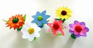 Blumen Basteln Vorlage : blumen aus krepppapier pflanzen basteln meine enkel und ich ~ Frokenaadalensverden.com Haus und Dekorationen