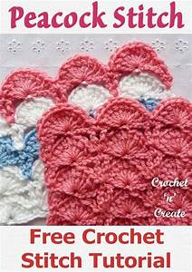 Crochet Peacock Fan Stitch