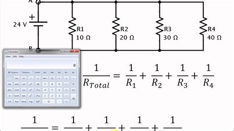 Easy Calculator Method For Finding Total Resistance