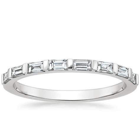 bar set baguette diamond ring barre brilliant earth