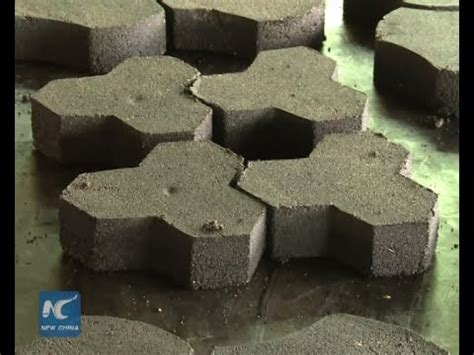 waste  wealth recycled plastic paving stone youtube