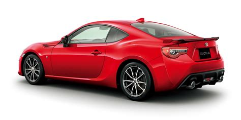 toyota vehicles 2017 toyota 86 updated and uprated sports car confirmed