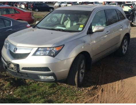 ea  acura mdx  technology package  sale