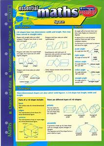 Essential Study Guide Maths  Shape  Space  Measurement  Data