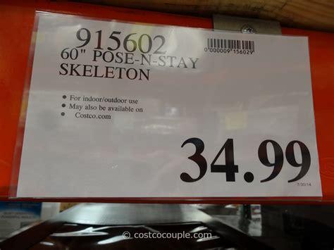 costco lights 2015 60 inch pose n stay skeleton