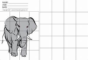 Easy Grid Drawing Worksheets Free Download On Clipartmag