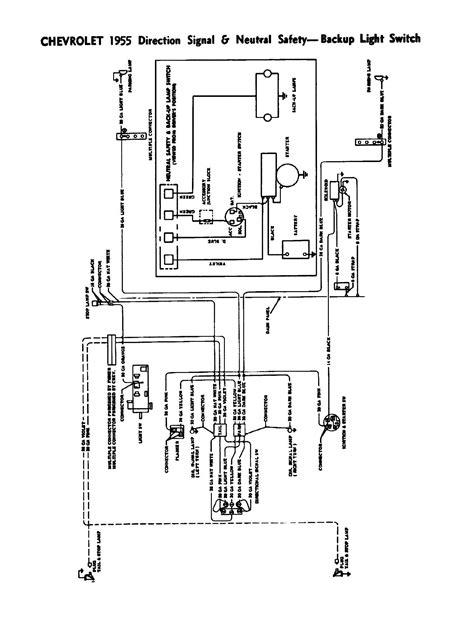 1956 Chevy Truck Wiring Diagram by 1957 Chevy Truck Turn Signal Wiring Diagram 1955 1956