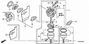 Honda Hrr216k4 Vxa Lawn Mower  Usa  Vin  Mzcg