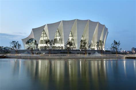Shanghai Oriental Sports Center Gmp Architekten Archdaily