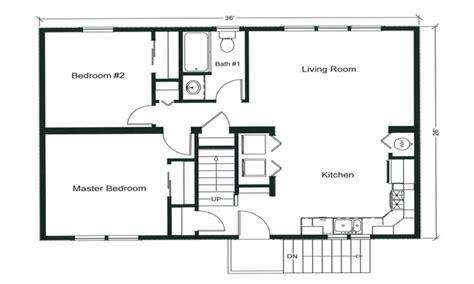 Two Bedroom Floor Plans by 2 Bedroom Apartment Floor Plan 2 Bedroom Open Floor Plan