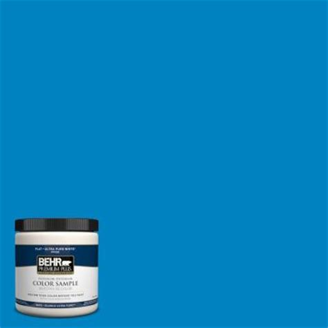Dark Purple Bath Rugs by Behr Premium Plus 8 Oz Pph 58 Caribbean Blue Interior