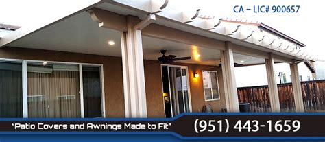 s patio covers awnings menifee patio covers