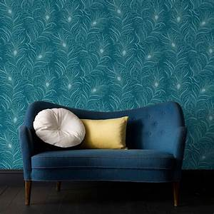 Papier Peint Bleu Canard : les 25 meilleures id es de la cat gorie papier peint bleu ~ Farleysfitness.com Idées de Décoration