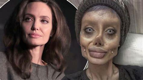 'Angelina Jolie wannabe' who said she had 50 surgeries to ...