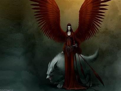 Angel Dark Angels Wallpapers Gothic Desktop Guardian