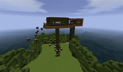 stilt house survival minecraft map