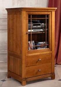Meuble Hifi Bois : meuble chaine hifi bois maison design ~ Voncanada.com Idées de Décoration