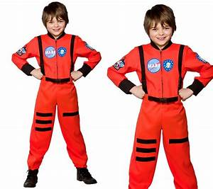 Spaceman Space Suit Outfit Astronaut Boys Fancy Dress ...