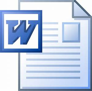 File Ms Word Doc Icon Svg