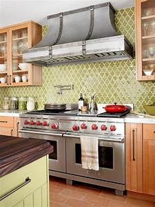 Dreamy kitchen backsplashes hgtv for What kind of paint to use on kitchen cabinets for ceramic art wall tiles