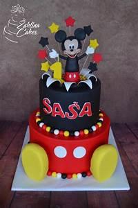 Mickey Mouse Geburtstag : mickey mouse cake by zaklina cakes cake decorating daily inspiration ideas pinterest ~ Orissabook.com Haus und Dekorationen