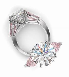 Pink diamond engagement rings from bez ambar for Pink diamond wedding rings