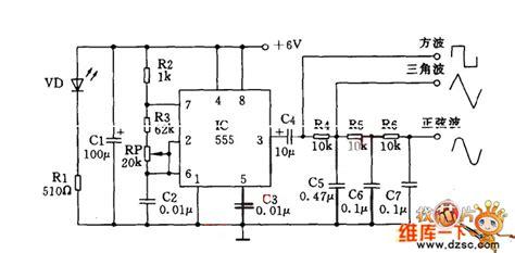 multi waveform signal generator circuit diagram signal processing circuit diagram seekic
