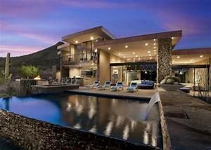 Maison En L Moderne : l 39 architecture de la maison moderne ~ Melissatoandfro.com Idées de Décoration