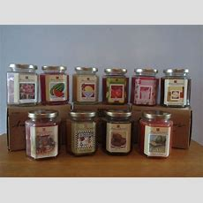 Home Interiors Candle In A Jar  Retired Scents  Paraffin